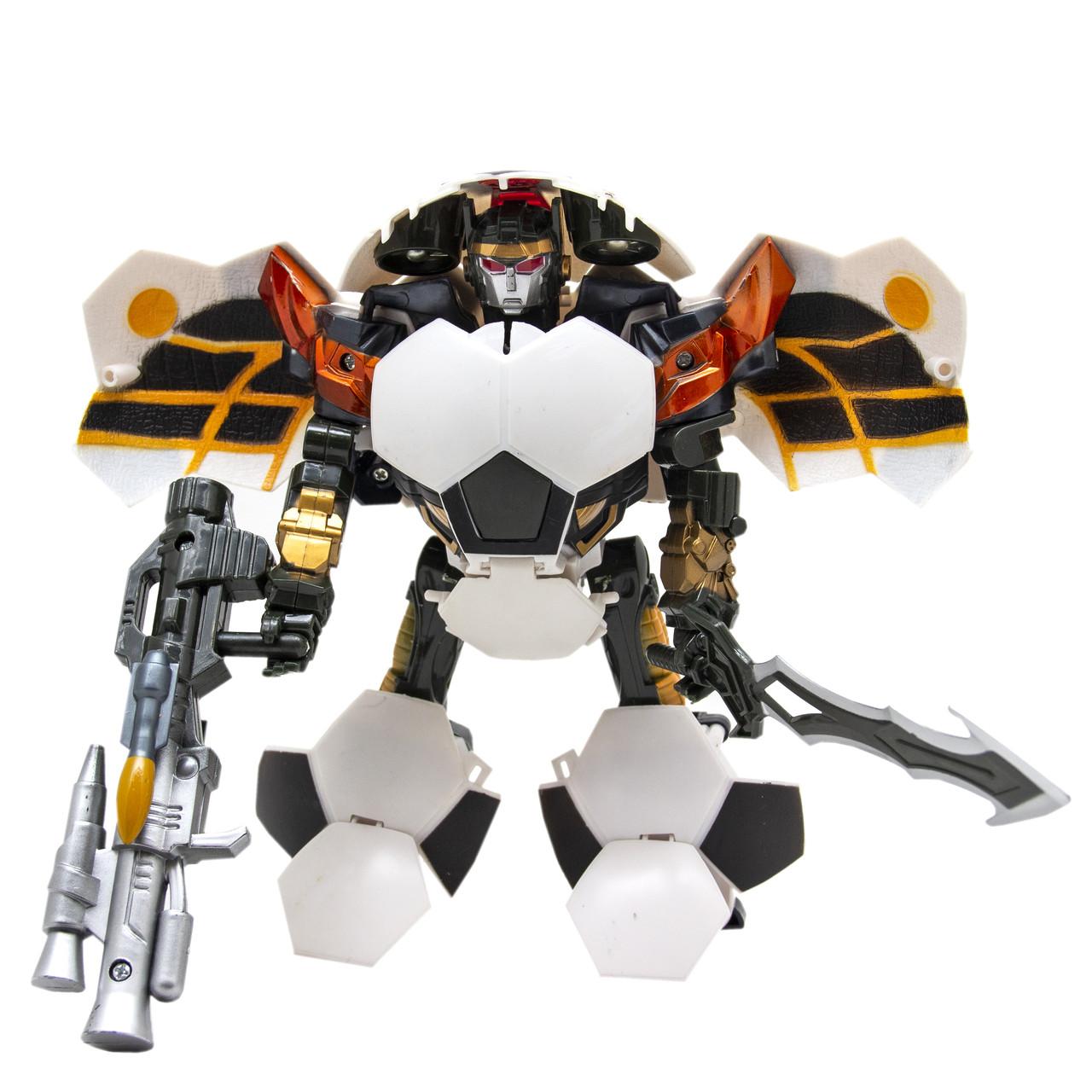 Робот-андроид, белый мяч, (10818-2)
