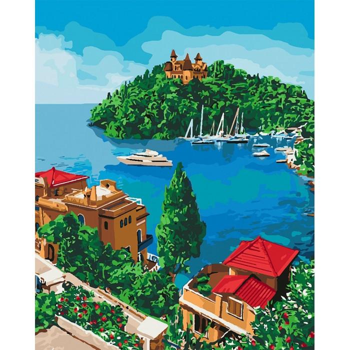 Картины по номерам Остров надежды В КОРОБКЕ  Идейка  КН2276