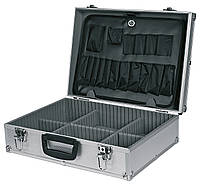 Кейс для инструмента алюминиевый 45 x 15 x 32 см TOPEX (79R220)