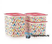 Супер Подарок - Набор эко-контейнеров Акваконтроль Мороженки Tupperware