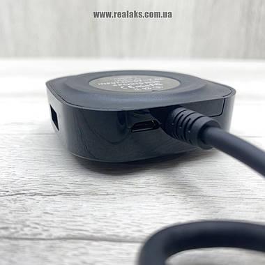 Хаб концентратор зарядка REMAX RU-U8 (Black), фото 3