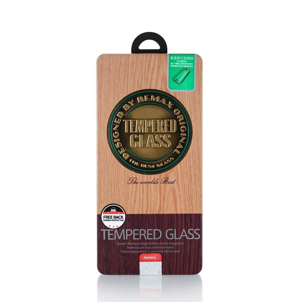 Защитное Стекло Remax 2pcs Round Cut Tempered Glass for iPhone 7Plus/8Plus