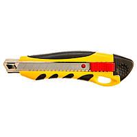 Нож с отламывающимися лезвиями 18мм Topex (17B428)