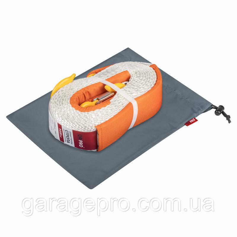 Грязезащитный мешок ORPRO для буксировочной стропы 25х35 см (Серый)