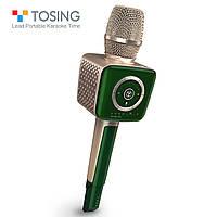 Микрофон караоке TOSING V1 (TUXUN) Оригинал / Модель 2020! / Беспроводной, Портативный, Bluetooth