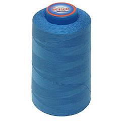 Нитки швейные Super 40 2 бобина 3657м Голубые S40 2-058, КОД: 1314710