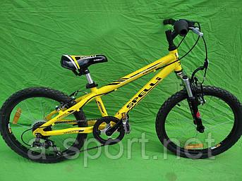Підлітковий велосипед Spelli, колеса 20, алюміній