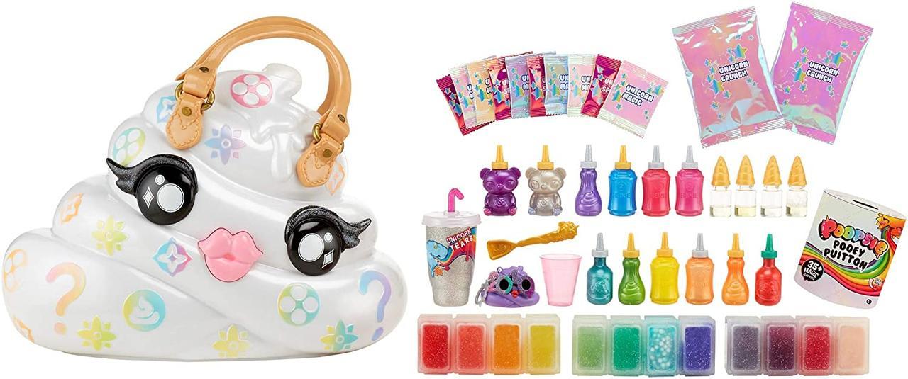 Набор юного дизайнера Poopsie Пуи Пуитон - набор-кейс с сюрпризами от MGA  Poopsie Pooey Puitton