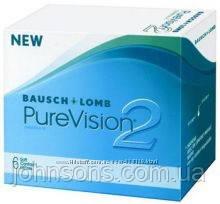 Контактні лінзи PureVision2 - 1шт