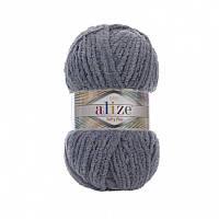 Пряжа Softy Plus 100гр - 120м (87 Серый) Alize