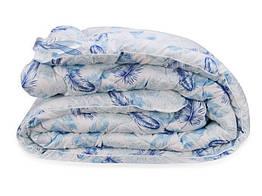 Одеяло Leleka-Textile Биопух Двуспальный 172х205 см Перышки 1005538, КОД: 1659348