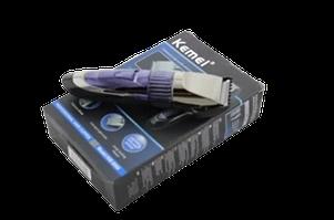 Kemei KM8066 машинка для стрижки волос и бороды / Аккумуляторная машинка для стрижки