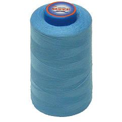 Нитки швейные Super 40 2 бобина 3657м Голубые S40 2-054, КОД: 1314709