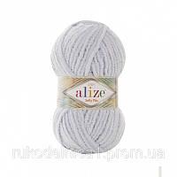 Пряжа Softy Plus 100гр - 120м (500 Светло-серый) Alize