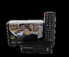 Тюнер DVB-T2 0967 с поддержкой wi-fi адаптера