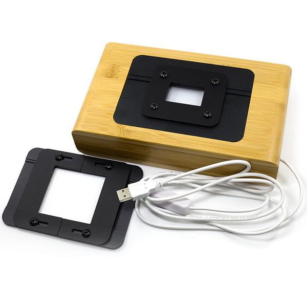 Wigo держатель 35mm пленки и 120 фотопленки для пересъемки-сканирования фотокамерой.
