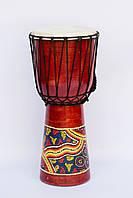 Барабан джембе расписной, 50 см