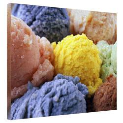 Картина на холсте Мороженое 40x50 см (H4050_YM002)