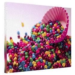 Картина на полотні 40х50 Цукерки (H4050_YM006)