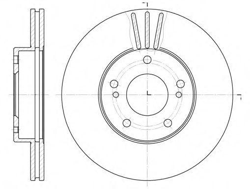 Гальмівний диск Nissan 402062L903