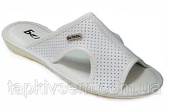 Тапки женские Белста открытые (белые) размер 37