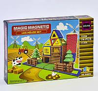 Детский магнитный конструктор Magic Magnetic Ферма JH 8856 74 детали Разноцветный 2-JH8856-73814, КОД: 1077876