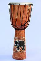Барабан джембе расписной, 60 см