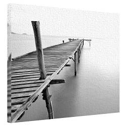 Картина на холсте 40х50 Деревянный пирс (H4050_PRI002)