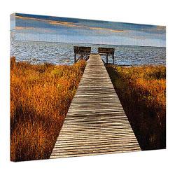 Картина на полотні 45х65 Дерев'яний пірс (H4565_PRI005)