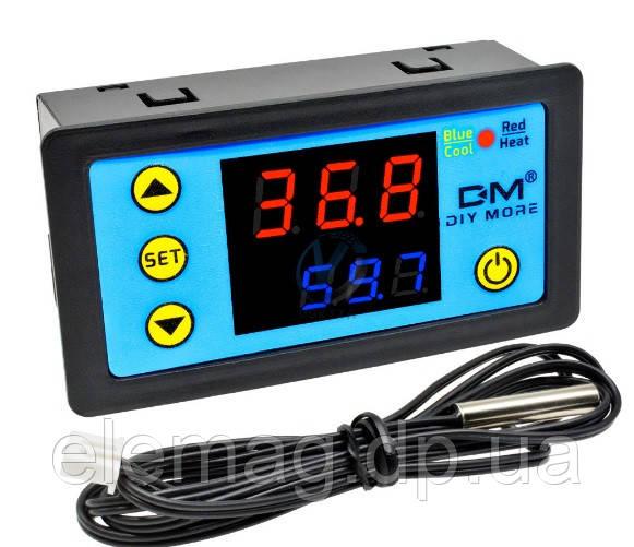 W3231 контроллер температуры цифровой со звуковым сигналом AC 110-220 В