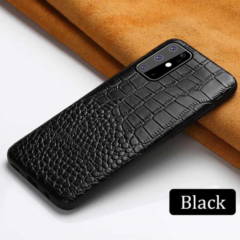 Кожаный чехол под крокодила для Samsung Galaxy S20 Plus