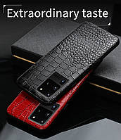Шкіряний чохол під крокодила для Samsung Galaxy S20 Ultra
