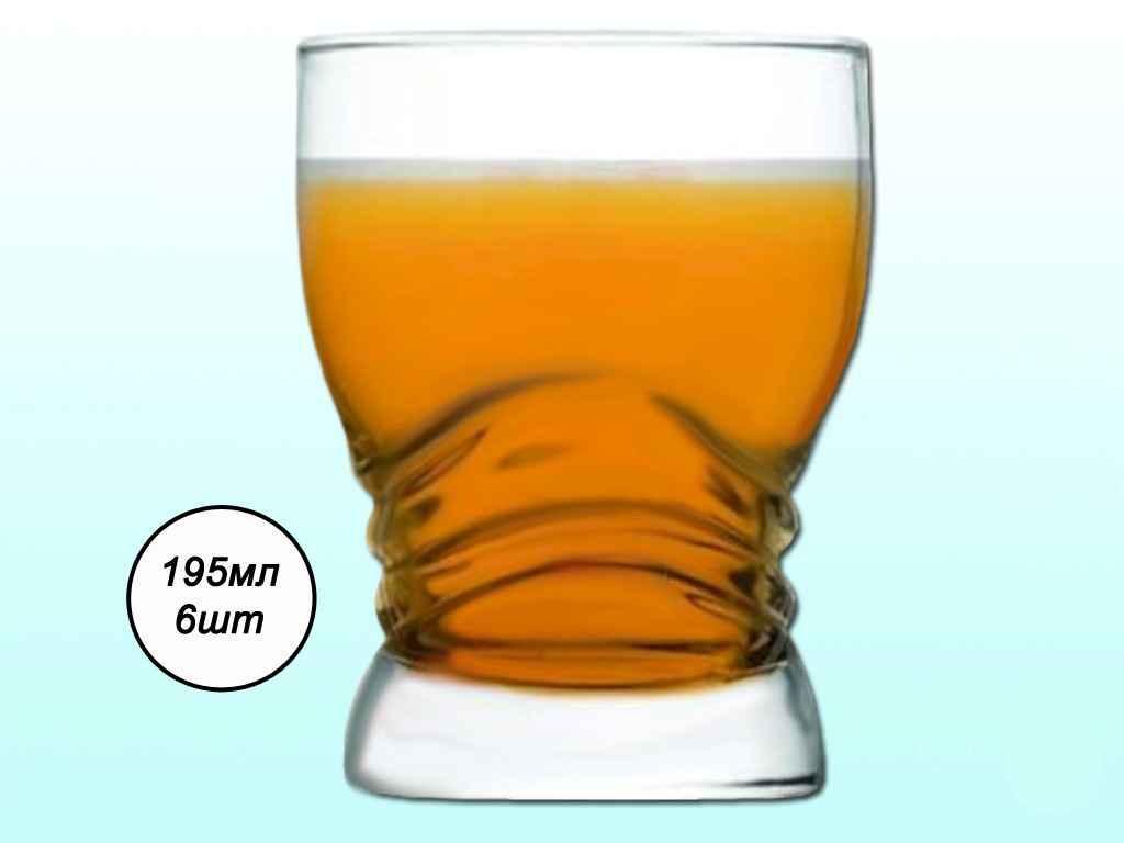 Набір склянок 6шт*195мл ARS AC31-146-257 ТМARTCRAFT