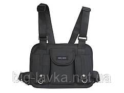 Тактическая сумка для груди Hgul Bag  Черный