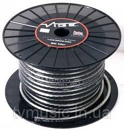 Силовой кабель Vibe FLATLINES 8 GND black