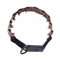 Строгий ошейник для собак с замком Clic Lock, куроган сталь Neck - Tech Sport (Спрингер) Sprenger (60 см)