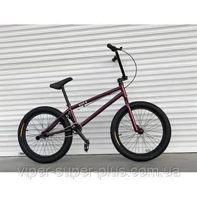 """Бэймикс Велосипед трюковый подростковый bmx с пегами Viper VSP BMX-5 20 дюйм"""" Новый! Польша! Без Предоплаты!"""