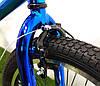 "Велосипед bmx для подростка Crosser Rainbow 20"" синий, фото 4"