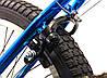 "Велосипед bmx для подростка Crosser Rainbow 20"" синий, фото 5"