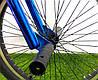"Велосипед bmx для подростка Crosser Rainbow 20"" синий, фото 6"