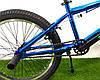 "Велосипед bmx для подростка Crosser Rainbow 20"" синий, фото 7"