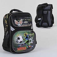Рюкзак школьный с 2 отделениями и 4 карманами, ортопедическая спинка, 3D принт SKL11-186152
