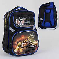 Рюкзак школьный с 2 отделениями и 4 карманами, спинка ортопедическая, 3D принт SKL11-186153
