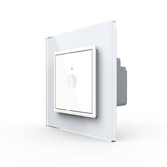 Сенсорный выключатель Livolo цвет белый (7220001)