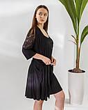Женский  халат   и сорочка с кружевом Nicoletta, фото 6