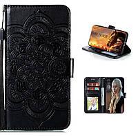 Чехол Lotus для iPhone XS Max книжка кожа PU Черный