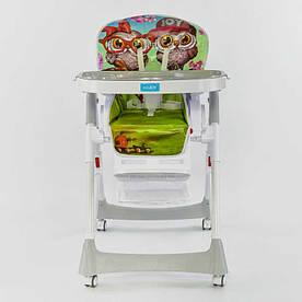 Детский стульчик для кормления JOY J-2050 Сова (72442)