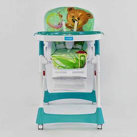 Детский стульчик для кормления JOY J-3900 Медвежонок (72443)