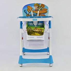 Детский стульчик для кормления JOY J-7600 Самолет (72441)