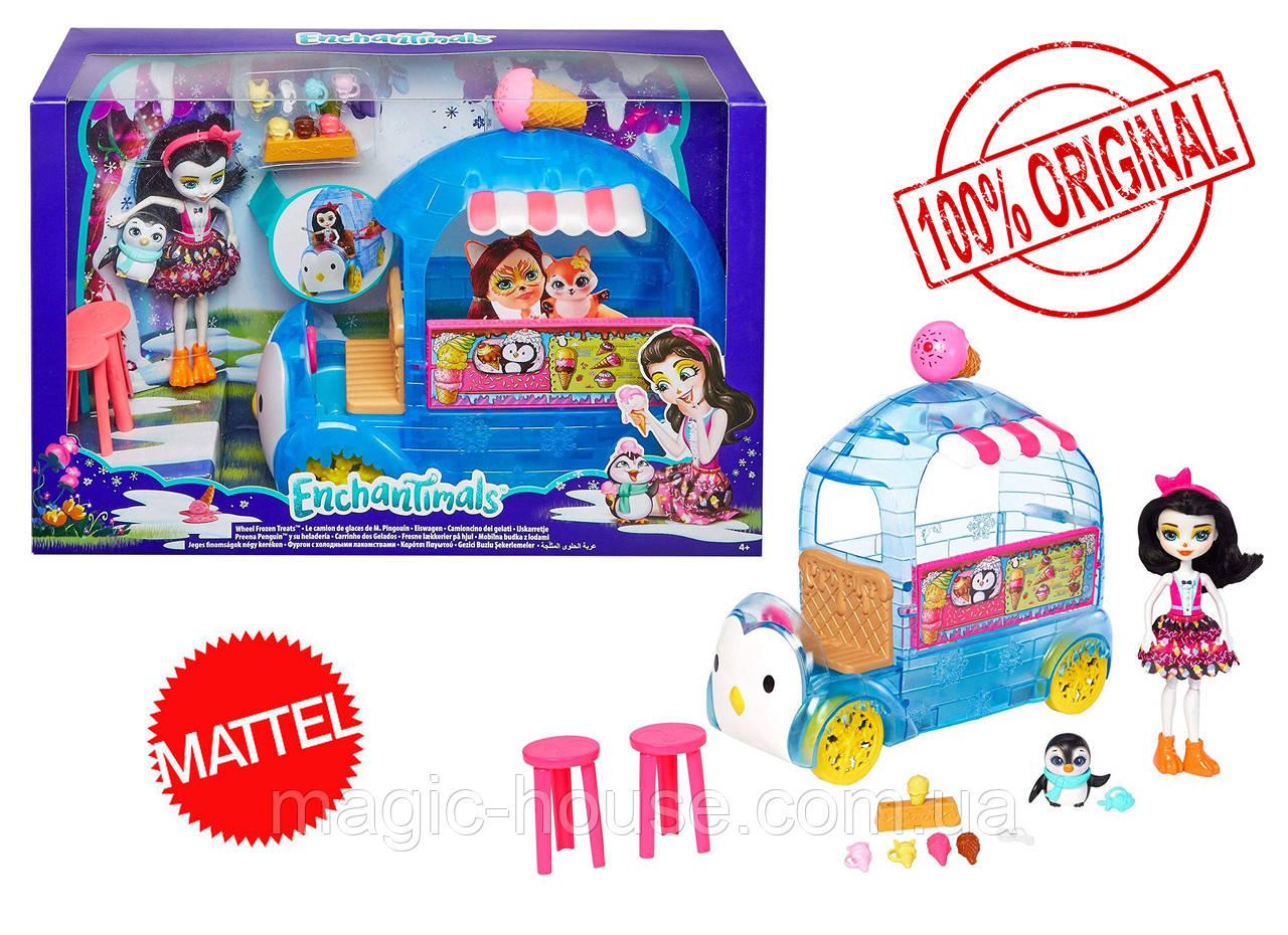 Уценка! Игровой набор Enchantimals Фургончик мороженого Прины Пингвины